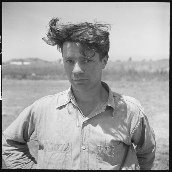 File:Alameda County, California. Miscellaneous. Son of a small farmer, this Portuguese (man) works part of the time on his... - NARA - 532153.tiff