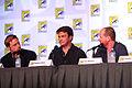 Alan Tudyk, Nathan Fillion & Joss Whedon (7594509976).jpg