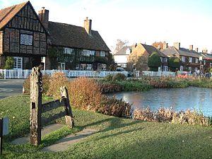 Aldbury - Image: Aldbury Pond