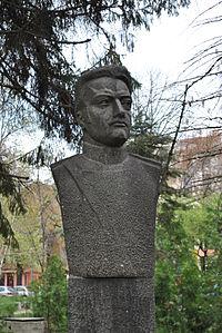 Aleksandr Burago monument, Plovdiv, Bulgaria 4.jpg