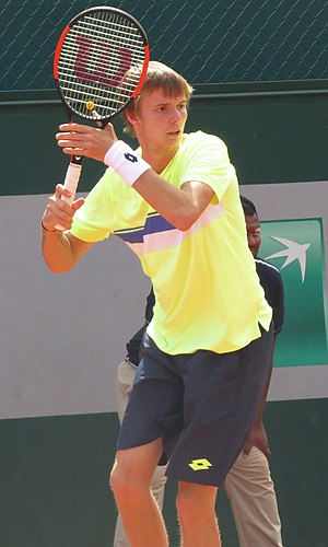 Alexander Bublik - Image: Alexander Bublik Roland Garros 2017 Qualifying