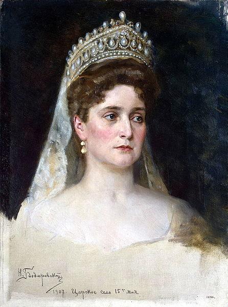 1907г императрица александра федоровна