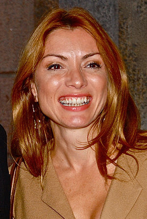 Greece in the Eurovision Song Contest 2005 - Greek-Swedish journalist Alexandra Pascalidou who hosted the national final replaced long-running commentator Dafni Bokota.