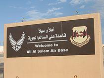 Ali al Salem Welcome.JPG