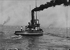 Alice (steam tug 1897) - Image: Alice (steam tug built 1897) circa 1925