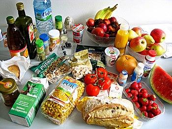 English: Foods