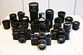 All My Canon F-1 and FD Lenses (14999107214).jpg