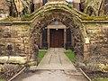 All Saints church - western arch (geograph 5728110).jpg