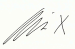 Signature d'Allie X