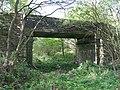 Allt-y-Graban road crosses dismantled railway - geograph.org.uk - 1332697.jpg