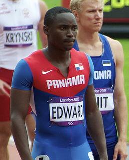 Alonso Edward Panamanian sprinter