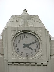 Alpena County Courthouse clock detail - Alpena Michigan.jpg