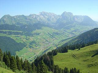 Former municipality of Switzerland in St. Gallen