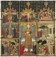 Retaule de Sant Esteve de Gualter