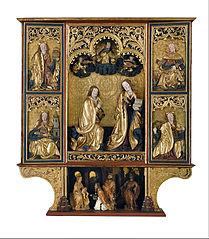 Altarpiece of the Annunciation from Kisszeben