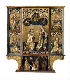 Altarpiece of the Annunciation from Kisszeben