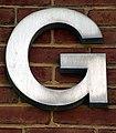 Aluminum Capital Letter G (Silver Spring, MD).jpg