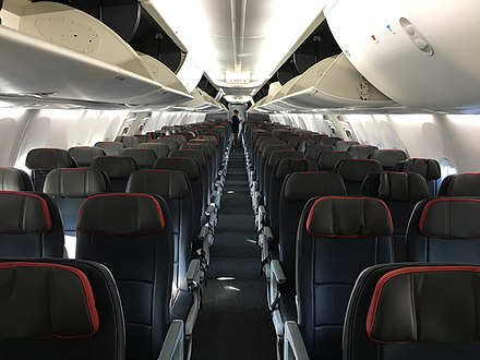 3-3 Economy Cabin American's first 737 Max (24856280448).jpg