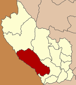 Amphoe location in Kanchanaburi Province