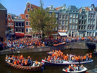 <i>Koningsdag</i> Dutch national holiday