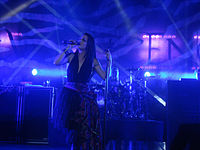 Amy Lee of Evanescence 102511.jpg