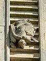 An angel on the way down, Bath Abbey west elevation - geograph.org.uk - 717347.jpg