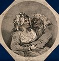 An old man with his arms around a young woman. Stipple engra Wellcome V0039174.jpg