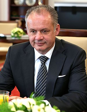 President of Slovakia - Image: Andrej Kiska in Senate of Poland