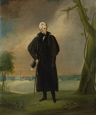 Presidency of Andrew Jackson - Jackson painted by Earl, 1830