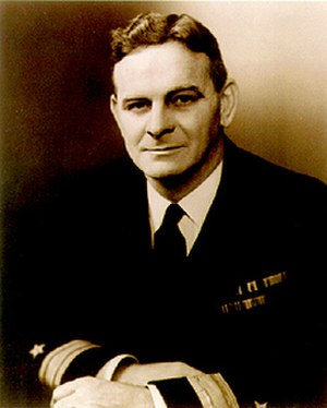 Andrew McKee - McKee while a commodore in the US Navy