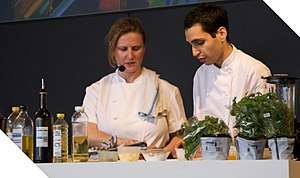 Verre (restaurant) - Angela Hartnett was the first head chef in the kitchen upon launch