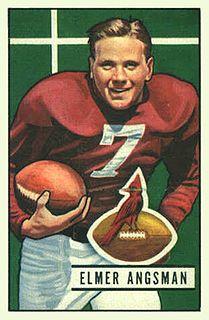 Elmer Angsman American football player