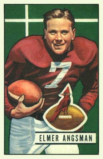 Elmer Angsman - Image: Angsman 1951 Bowman