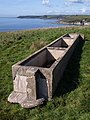 Animal trough above Fernycombe Point - geograph.org.uk - 1511031.jpg
