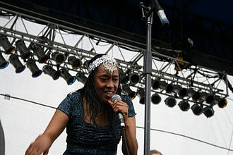 Ann Peebles - Peebles performing at the Beale Street Music Festival in 2007.
