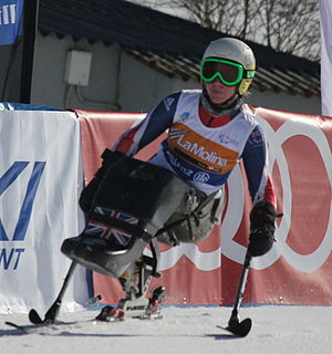 Anna Turney British Paralympic alpine skier