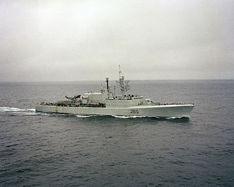 Annapolis-class destroyer - Annapolis in 1982 before her DELEX refit
