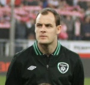 Anthony Stokes - Stokes before a Republic of Ireland game in 2013