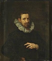 Portrait of the painter Jan Brueghel