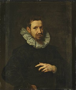 Anthony van Dyck (possibly) - Portrait of Jan Brueghel the Elder.jpg