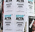 Anti-ACTA Demonstration in Aalborg, Denmark, 2012-02-25 -ubt.JPG