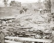 Antietam Battle, Bloody Lane, 1862