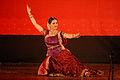 Anu Sinha Kathak Performance at Shakuntalam Theatre, ITPO, IITF.JPG