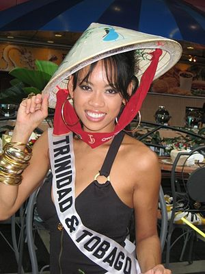 Anya Ayoung-Chee - Anya at the Miss Universe 2008 Pageant