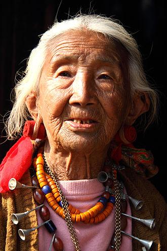 Ao Naga - Ao woman in traditional attire