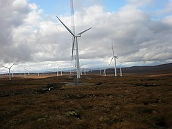 Approaching Wind Farm from East - geograph.org.uk - 1010402.jpg
