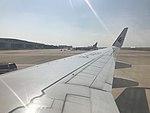 Apron of Shanghai Pudong International Airport from plane for Fukuoka Airport.jpg