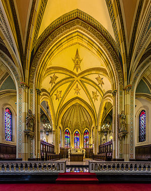 Our Lady of the Assumption (Windsor, Ontario) - The apse of the church
