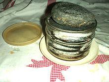 Arbanella di acciughe sotto sale