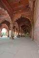 Arches and Royal Platform with Marble Canopy - Diwan-i-Am - Red Fort - Delhi 2014-05-13 3224-3229 Archive.TIF
